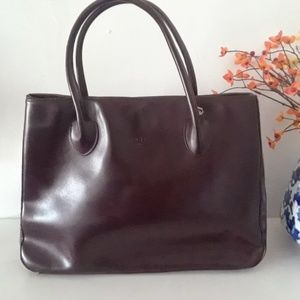 Burgundy Focus Paris Purse